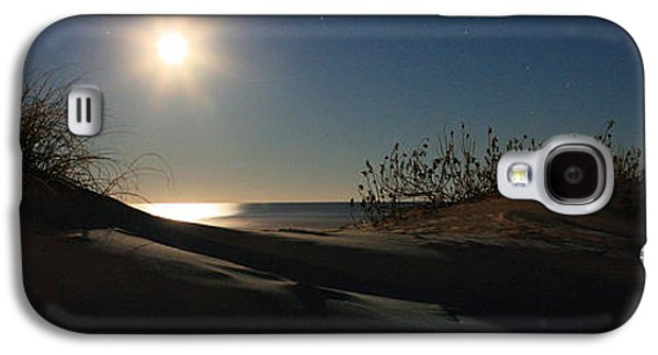 Topsail Galaxy S4 Cases - Moonrise Over the Dunes Galaxy S4 Case by JC Findley