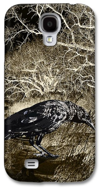 Judy Wood Galaxy S4 Cases - Moonshadow Galaxy S4 Case by Judy Wood