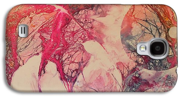 Elizabeth Carr Galaxy S4 Cases - Moonsong Galaxy S4 Case by Elizabeth Carr