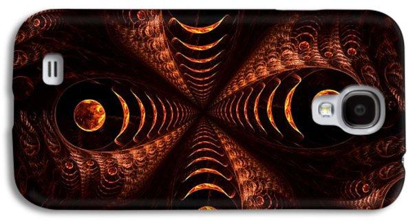 Dark Galaxy S4 Cases - Moonstruck Galaxy S4 Case by Anastasiya Malakhova