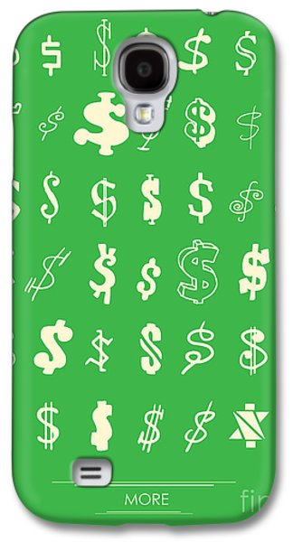 Money Galaxy S4 Cases - More more more Galaxy S4 Case by Budi Satria Kwan