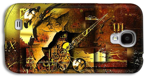 Abstract Digital Mixed Media Galaxy S4 Cases - More Than The Reality Galaxy S4 Case by Franziskus Pfleghart