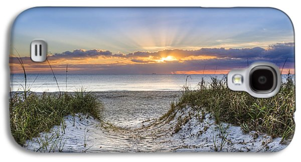 Sanddunes Galaxy S4 Cases - Morning Blessing Galaxy S4 Case by Debra and Dave Vanderlaan