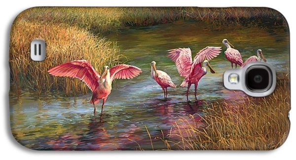 Morning Dance Galaxy S4 Case by Laurie Hein