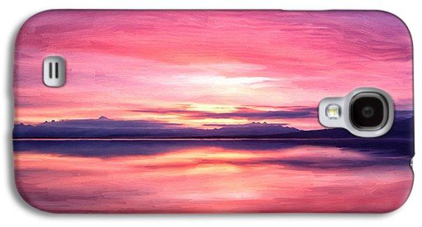 Wildlife Refuge. Galaxy S4 Cases - Morning Dawn Galaxy S4 Case by Michael Pickett