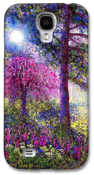 Sunbeams Galaxy S4 Cases - Morning Dew Galaxy S4 Case by Jane Small