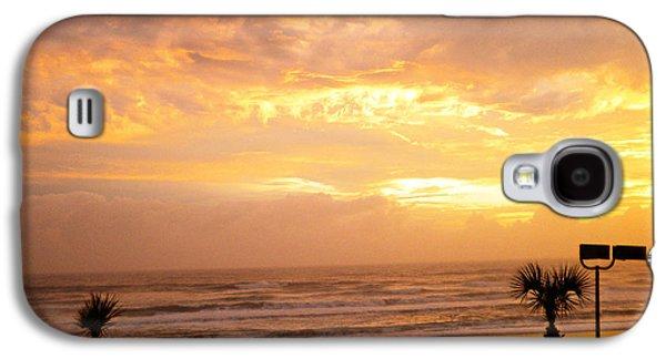 Sun Jewelry Galaxy S4 Cases - When The Sun Comes Galaxy S4 Case by Violeta Ianeva