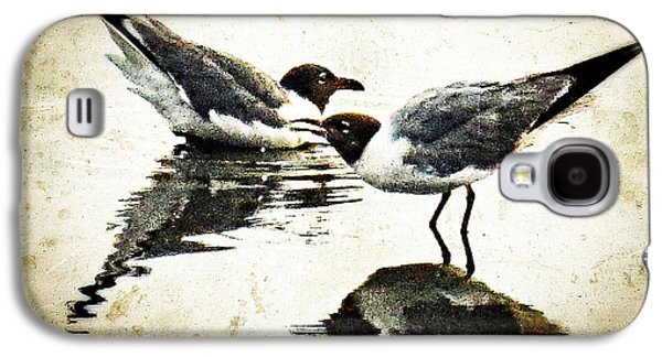 Morning Gulls - Seagull Art By Sharon Cummings Galaxy S4 Case by Sharon Cummings