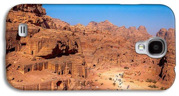 Petra - Jordan Galaxy S4 Cases - Morning in Petra Galaxy S4 Case by Alexey Stiop