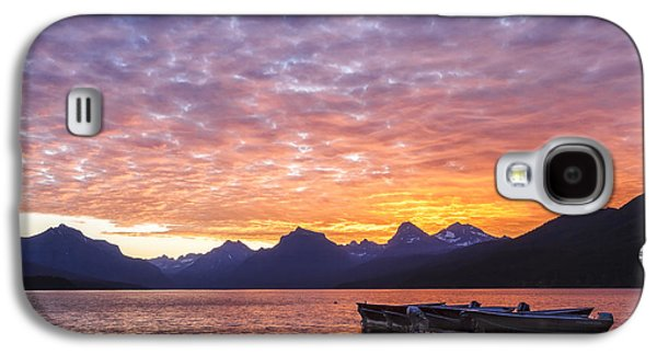 Snow Capped Galaxy S4 Cases - Morning Light Galaxy S4 Case by Jon Glaser
