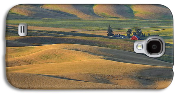 Contour Farming Galaxy S4 Cases - Morning Light Galaxy S4 Case by Latah Trail Foundation