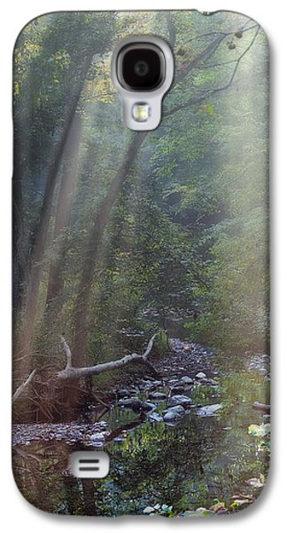 Atmosphere Photographs Galaxy S4 Cases - Morning Light Galaxy S4 Case by Tom Mc Nemar