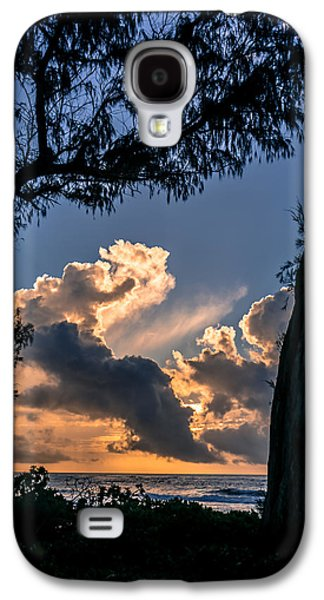 Recently Sold -  - Sunset Abstract Galaxy S4 Cases - Morning Love Galaxy S4 Case by Tex Wantsmore