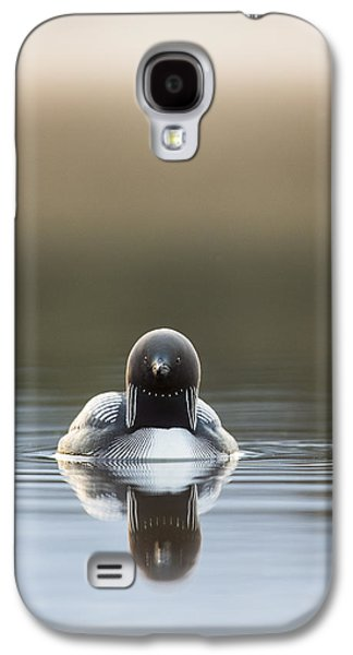Loon Galaxy S4 Cases - Morning Mist and a Reflection Galaxy S4 Case by Tim Grams