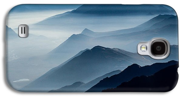Layered Galaxy S4 Cases - Morning Mist Galaxy S4 Case by Chad Dutson
