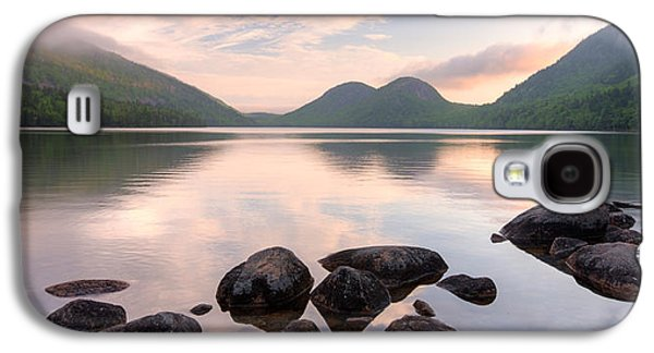 Pond In Park Galaxy S4 Cases - Morning Mist On Jordan Pond, Acadia Galaxy S4 Case by Panoramic Images