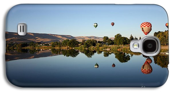 Yakima Valley Galaxy S4 Cases - Morning on the Yakima River Galaxy S4 Case by Carol Groenen