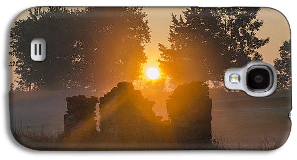 Philadelphia Cricket Galaxy S4 Cases - Morning Sunrise at Philadelphia Cricket Club Galaxy S4 Case by Bill Cannon