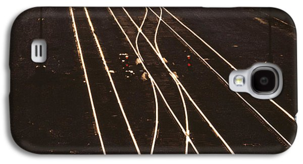 Train Photographs Galaxy S4 Cases - Morning Train Galaxy S4 Case by Don Spenner