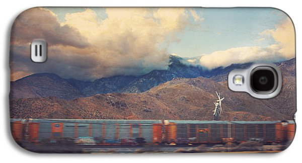 Cloudscape Digital Galaxy S4 Cases - Morning Train Galaxy S4 Case by Laurie Search