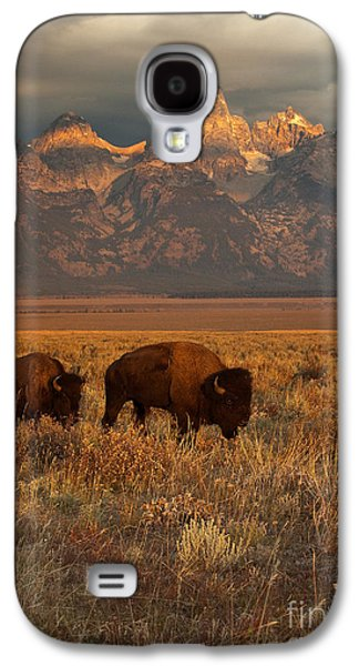 Morning Travels In Grand Teton Galaxy S4 Case by Sandra Bronstein