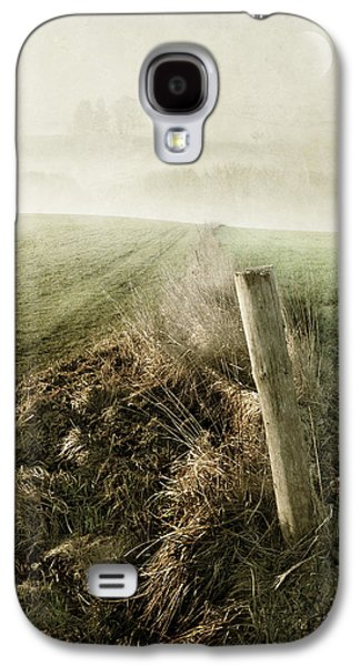 Abstract Digital Pyrography Galaxy S4 Cases - Morning Watch Galaxy S4 Case by manhART