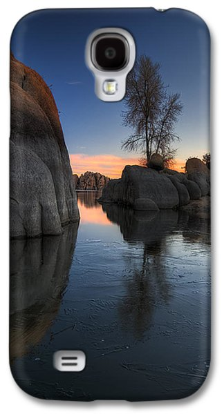 Prescott Photographs Galaxy S4 Cases - Morning Wood Galaxy S4 Case by Sean Foster