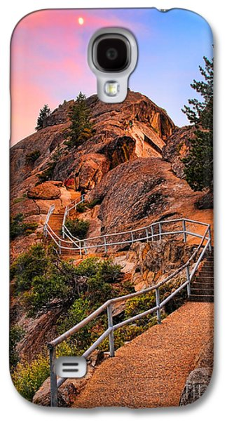 Californian Galaxy S4 Cases - Moro Rock Path Galaxy S4 Case by Inge Johnsson