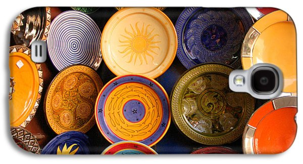 Moroccan Pottery On Display For Sale Galaxy S4 Case by Ralph A  Ledergerber-Photography