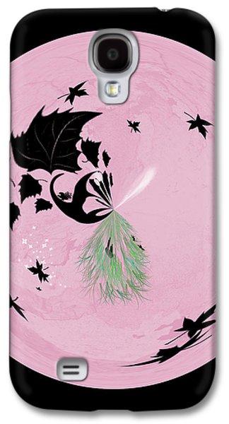 Morphed Galaxy S4 Cases - Morphed Art Globe 10 Galaxy S4 Case by Rhonda Barrett