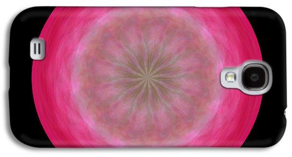 Morphed Galaxy S4 Cases - Morphed Art Globe 12 Galaxy S4 Case by Rhonda Barrett