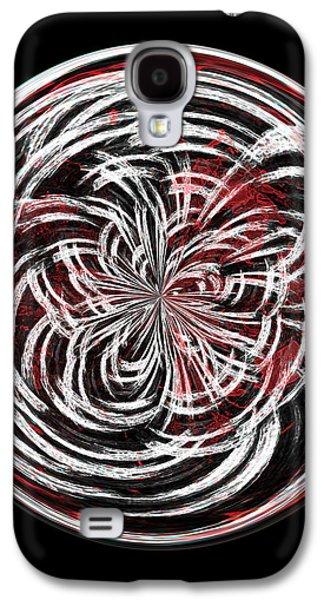 Morphed Galaxy S4 Cases - Morphed Art Globe 15 Galaxy S4 Case by Rhonda Barrett