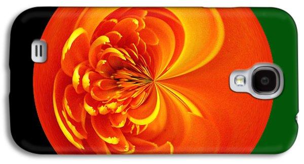 Morphed Galaxy S4 Cases - Morphed Art Globe 19 Galaxy S4 Case by Rhonda Barrett