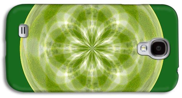 Morphed Galaxy S4 Cases - Morphed Art Globe 27 Galaxy S4 Case by Rhonda Barrett