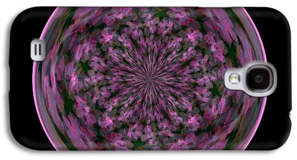 Morphed Galaxy S4 Cases - Morphed Art Globe 28 Galaxy S4 Case by Rhonda Barrett