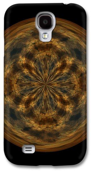 Morphed Galaxy S4 Cases - Morphed Art Globe 29 Galaxy S4 Case by Rhonda Barrett