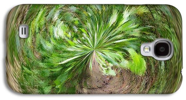 Morphed Galaxy S4 Cases - Morphed Art Globe 3 Galaxy S4 Case by Rhonda Barrett