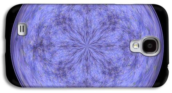 Morphed Galaxy S4 Cases - Morphed Art Globe 30 Galaxy S4 Case by Rhonda Barrett