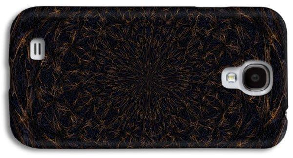 Morphed Galaxy S4 Cases - Morphed Art Globe 31 Galaxy S4 Case by Rhonda Barrett