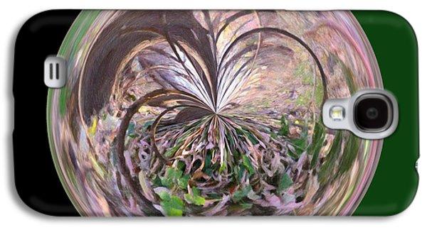 Morphed Galaxy S4 Cases - Morphed Art Globe 36 Galaxy S4 Case by Rhonda Barrett