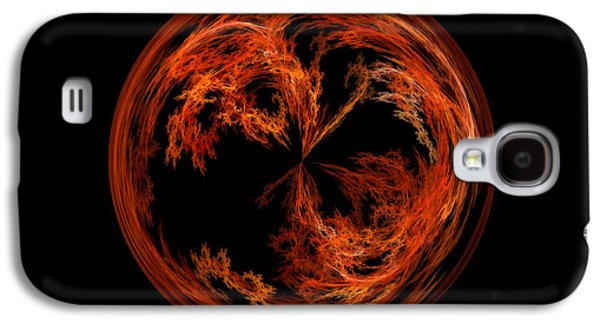Morphed Galaxy S4 Cases - Morphed Art Globe 37 Galaxy S4 Case by Rhonda Barrett