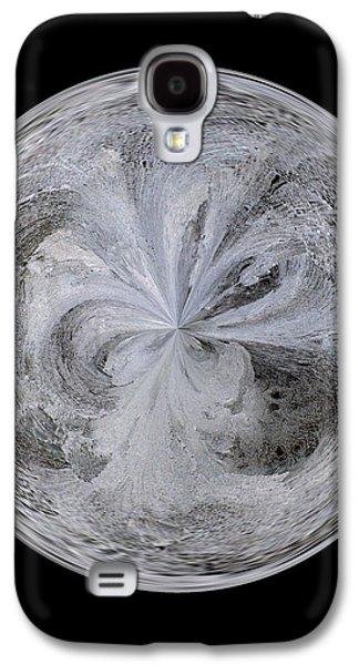 Morphed Galaxy S4 Cases - Morphed Art Globe 4 Galaxy S4 Case by Rhonda Barrett