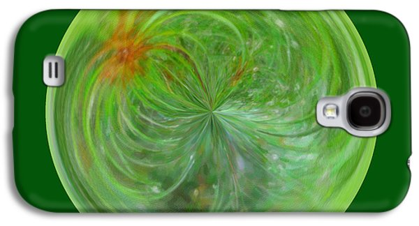 Morphed Galaxy S4 Cases - Morphed Art Globe 5 Galaxy S4 Case by Rhonda Barrett