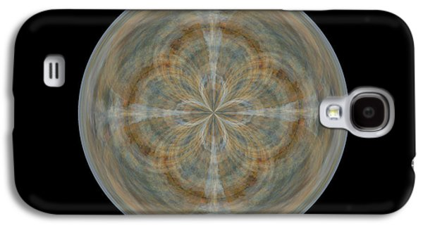 Morphed Galaxy S4 Cases - Morphed Art Globes 25 Galaxy S4 Case by Rhonda Barrett