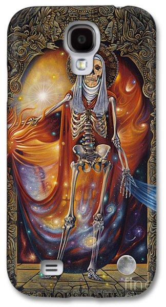 Orthodox Paintings Galaxy S4 Cases - Mors Santi Galaxy S4 Case by Ricardo Chavez-Mendez