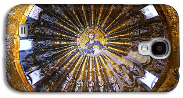 All In The Family Galaxy S4 Cases - Mosaic of Christ Pantocrator Galaxy S4 Case by Stephen Stookey