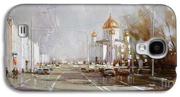 Moscow. Cathedral Of Christ The Savior Galaxy S4 Case by Ramil Gappasov