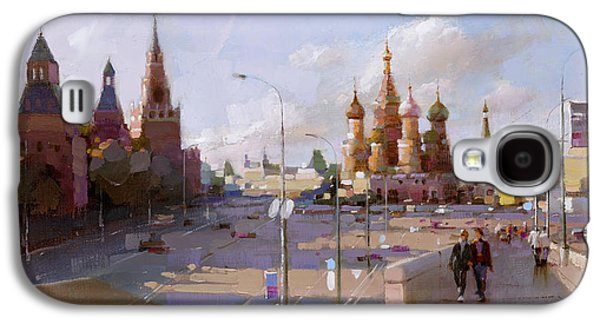Moscow. Vasilevsky Descent. Views Of Red Square. Galaxy S4 Case by Ramil Gappasov