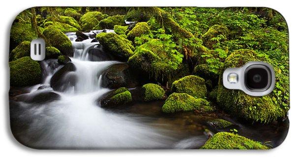 Darren Galaxy S4 Cases - Mossy Arch Cascade Galaxy S4 Case by Darren  White