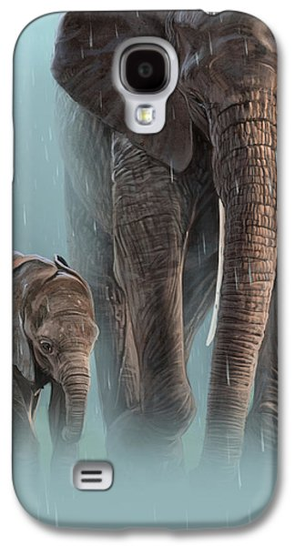 Mother And Child Galaxy S4 Case by Aaron Blaise